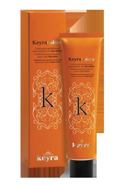 Haarfarbe Keyra Colors - permanente Haarfarbe mit Keratin